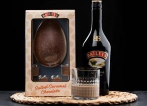 Baileys Salted Caramel sjokoladeegg