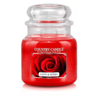 Country Candle Love & Roses