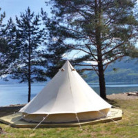 Glamping på Sandviken Camping