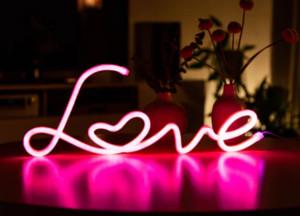 Love Led-Lampe