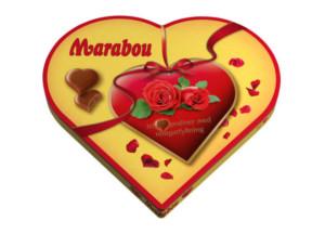Marabou hjerte